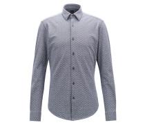 Slim-Fit Hemd aus Jersey