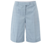 Relaxed-Fit Shorts aus Wolle und Seide