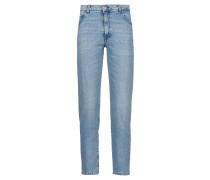 Slim-Fit Jeans aus italienischem Stretch-Denim in Cropped-Länge