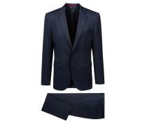 Regular-Fit Anzug aus Schurwoll-Mix