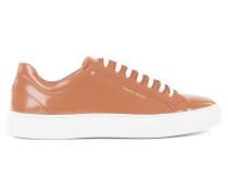 Sneakers aus gebürstetem Leder