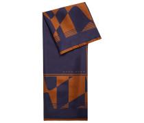 In Italien gefertigtes quadratisches Halstuch aus Seide