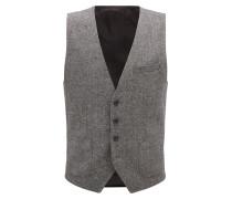 Slim-Fit Weste aus Tweed
