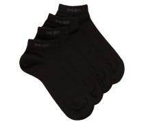 Zweier-Pack Sneakers-Socken aus Baumwoll-Mix