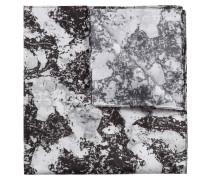 Einstecktuch aus Seide mit abstraktem Print