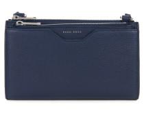 Mini Bag aus genarbtem italienischem Leder