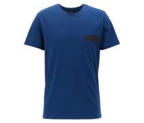 T-Shirt aus Baumwolle mit Logo auf der Brust