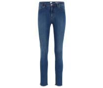 Skinny-Fit Jeans aus Powerstretch-Denim in Cropped-Länge