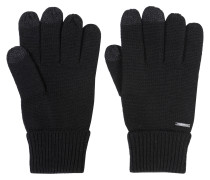 Handschuhe aus Woll-Mix mit Touchscreen-Funktion