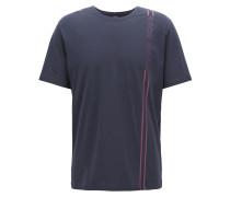 Pyjama-Shirt aus Single Jersey mit Logo-Dessin