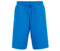 Relaxed-Fit Shorts aus strukturierter Stretch-Baumwolle