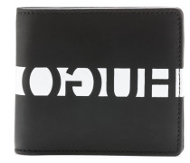Geldbörse aus gummiertem Leder