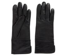 Leder-Handschuhe mit Touchscreen-Fingerspitzen