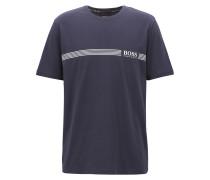 Pyjama-T-Shirt aus Stretch-Baumwolle