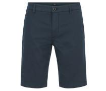 Slim-Fit Shorts aus Stretch-Satin