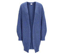 Oversized Strickjacke aus Woll-Mix