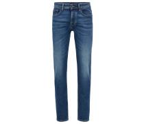 Tapered-Fit Jeans aus komfortablem Stretch-Denim