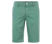 Slim-Fit Chino-Shorts aus doppelt gefärbtem Stretch-Satin