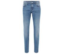 Slim-Fit Jeans aus italienischem BCI-Denim