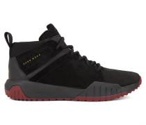 Hightop Sneakers aus Leder