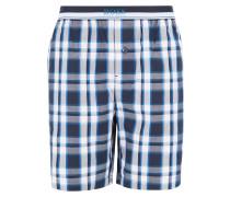 Karierte Pyjama-Shorts aus Baumwolle