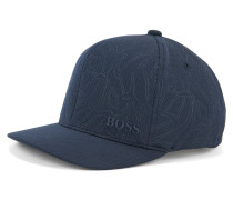 Cap aus Jersey mit Waben-Muster