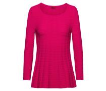 Pullover aus Super-Stretch-Gewebe mit Schößchen