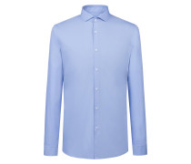 Extra Slim-Fit Hemd aus Baumwoll-Popeline