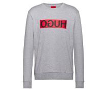 Sweatshirt aus Baumwolle mit Reversed-Logo