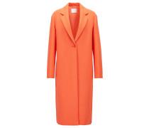 Relaxed-Fit Mantel aus gebondetem Krepp aus der Gallery Kollektion