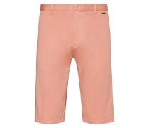 Shorts aus überfärbter Stretch-Baumwolle