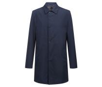 Wasserabweisender Regular-Fit Mantel