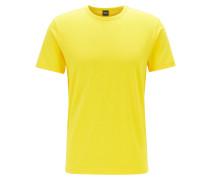 T-Shirt aus Baumwoll-Jersey mit geschwungenem Logo