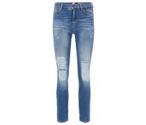 Slim-Fit Jeans in Cropped-Länge