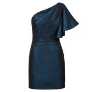 One-Shoulder-Abendkleid aus glitzerndem Jersey