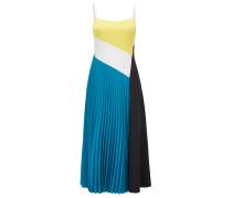 Colour-Block-Kleid aus elastischem Material-Mix aus der Gallery Kollektion