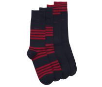 Zweier-Pack Socken aus Baumwoll-Mix