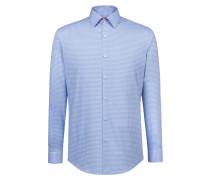 Bügelleichtes Slim-Fit Hemd aus Baumwolle