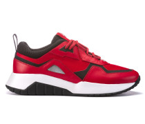 Hybrid-Sneakers mit dicken Sohlen