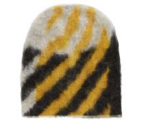 Mütze aus strukturiertem Woll-Mix
