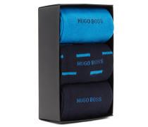 Dreier-Pack Socken in einer BOSS Geschenkbox