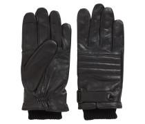 Abgesteppte Handschuhe aus Leder