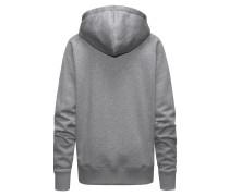 Kapuzen-Sweatshirt aus Baumwoll-Mix