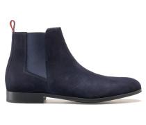 Chelsea Boots aus Veloursleder mit Gummisohle