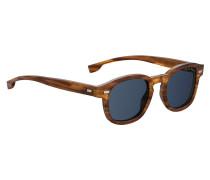Sonnenbrille aus Acetat in Schildpatt-Optik