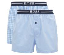 Pyjama-Shorts aus Baumwoll-Popeline im Zweier-Pack
