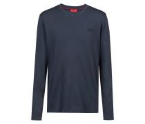 Sweatshirt aus Baumwolle mit Logo auf der Brust