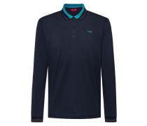 Longsleeve-Poloshirt aus Baumwoll-Piqué