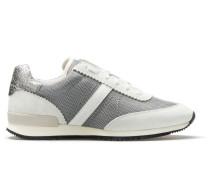 Sneakers aus weichem Veloursleder