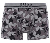 Boxershorts aus Stretch-Baumwolle mit Stern-Print